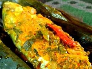 cara membuat resep pepes ikan mas sunda