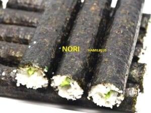 nori pembungkus sushi makanan jepang
