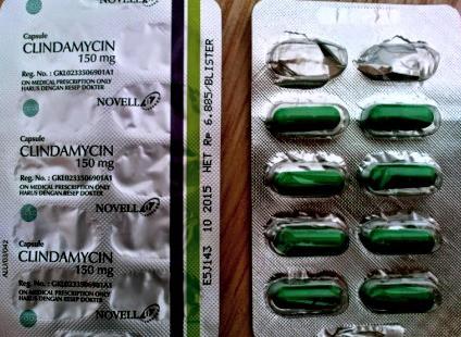 manfaat clindamycin 150mg
