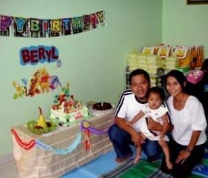 pesta ulang tahun anak sederhana 2