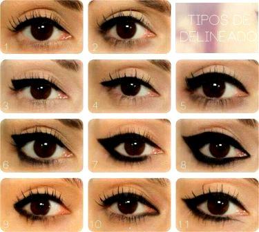 memakai eyeliner sesuai bentuk mata dan wajah