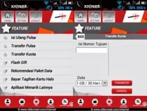 cara transfer kuota telkomsel 2