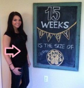 hamil 15 minggu ukuran berat tinggi panjang janin