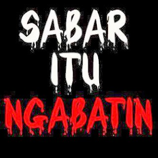 DP BBM Sabar bahasa sunda 12