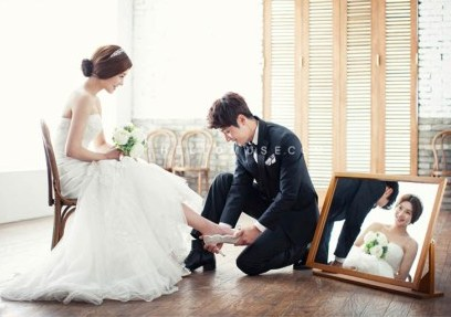 prewedding ala korea indoor seluet
