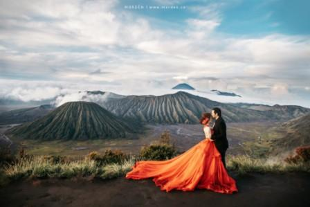 prewedding di gunung bromo keren cakep | HamilPlus.Com 2021