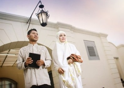prewedding di masjid pelataran mesjid | HamilPlus.Com 2021