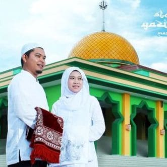 prewedding di masjid simple sederhana unik bagus | HamilPlus.Com 2021