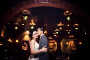 prewedding indoor elegant