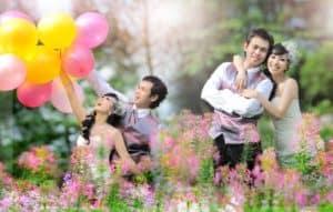 prewedding taman bunga nusantara 2 | HamilPlus.Com 2021