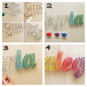 cara membuat hiasan dinding kamar buatan sendiri 11 | HamilPlus.Com 2021