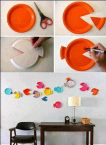cara membuat hiasan dinding kamar buatan sendiri 4 | HamilPlus.Com 2021