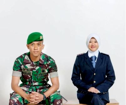 prewedding TNI tentara AD formal