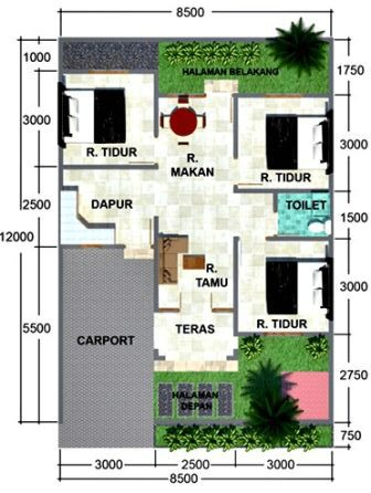 rumah minimalis 1 lantai 3 kamar tidur 10 e1502339902721 | HamilPlus.Com 2021