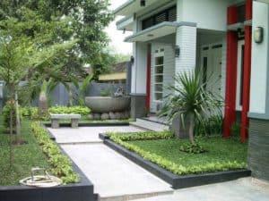 taman minimalis depan rumah 3 | HamilPlus.Com 2021
