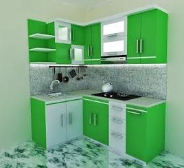 Kitchen set minimalis untuk dapur kecil ukuran 2x3 3x3 3x4 for Kitchen set yang baik