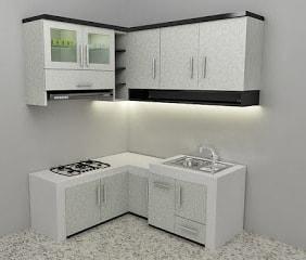 kitchen set minimalis untuk dapur kecil 5 | HamilPlus.Com 2021