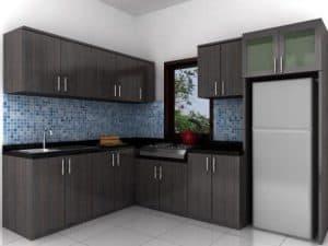 Kitchen Set Minimalis untuk Dapur Kecil