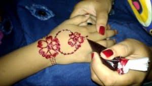 cara memakai henna cara membuat henna yang benar