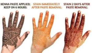 cara membedakan henna asli dan palsu 1