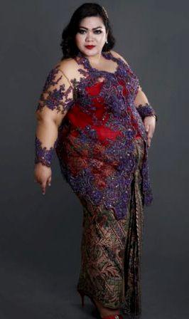 Model Kebaya Untuk Wanita Gemuk