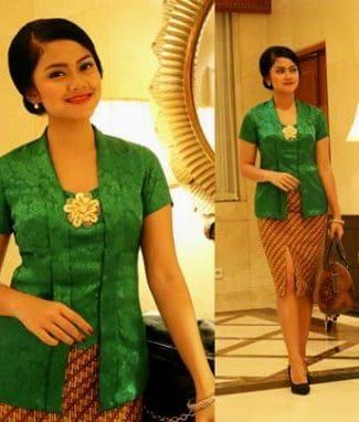 Model Kebaya Lengan Pendek