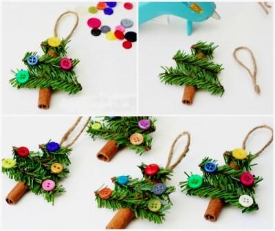 dekorasi natal unik dekorasi natal di rumah dekorasi natal dari barang bekas dekorasi pohon natal 2   HamilPlus.Com 2021