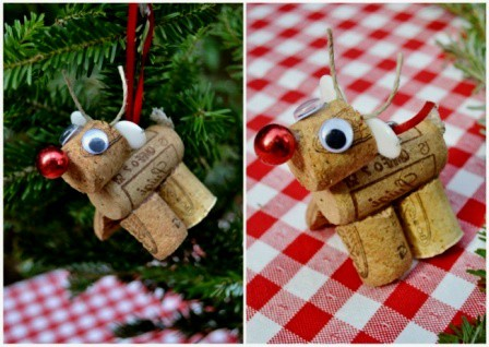 dekorasi natal unik, dekorasi natal di rumah, dekorasi natal dari barang bekas,dekorasi pohon natal 3 rusa tutup botol