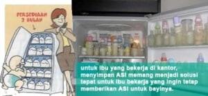 Tips Menyimpan ASI 2