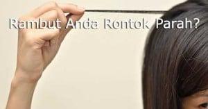 cara mengatasi rambut rontok 2