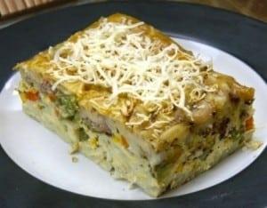 resep macaroni schotel panggang