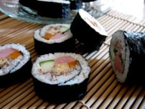 resep sushi roll cara membuat