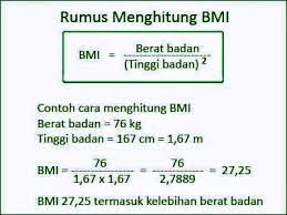 cara menghitung berat badan ideal 3