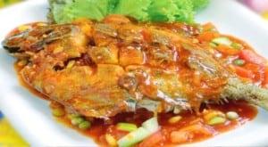 resep ikan bawal asam manis