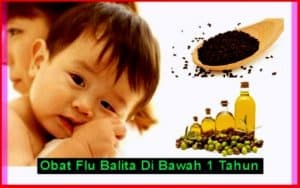 obat flu bayi 1 tahun