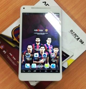 Advan Barca Tab 7 Tablet 4G RAM 2GB Murah Berkualitas, Harga di Bawah 2 Juta