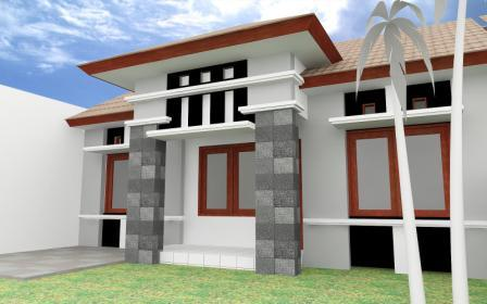 desain atap teras rumah minimalis 2021