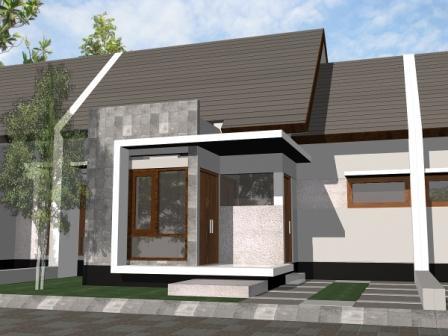 Contoh Desain Teras Rumah Minimalis.