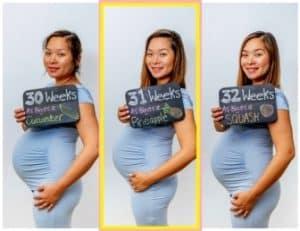 hamil 31 minggu