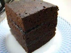 resep brownies kukus sederhana tanpa mixer