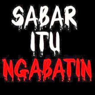 Dp Bbm Sabar Bahasa Sunda Lucu Unik Menyentuh Komplit