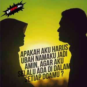DP BBM islami romantis 2 | HamilPlus.Com 2021