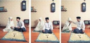konsep prewedding indoor casual muslim islami   HamilPlus.Com 2021