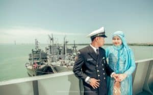 prewedding TNI AL