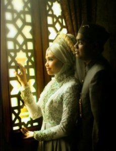 prewedding islami indoor