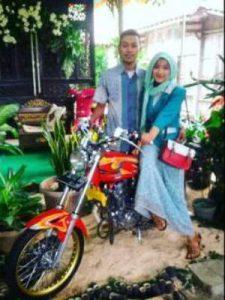 prewedding motor CB