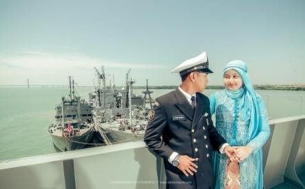 prewedding pelaut dan bidan 5