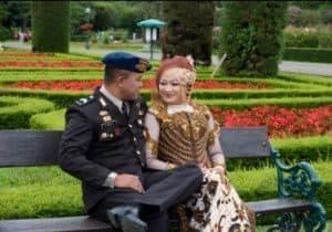 prewedding taman bunga nusantara tentara 2   HamilPlus.Com 2021