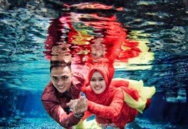 prewedding underwater jakarta 13