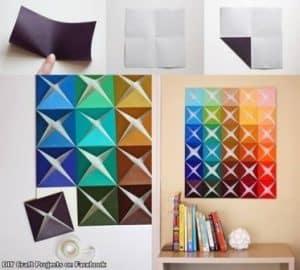 cara membuat hiasan dinding kamar buatan sendiri 19 | HamilPlus.Com 2021